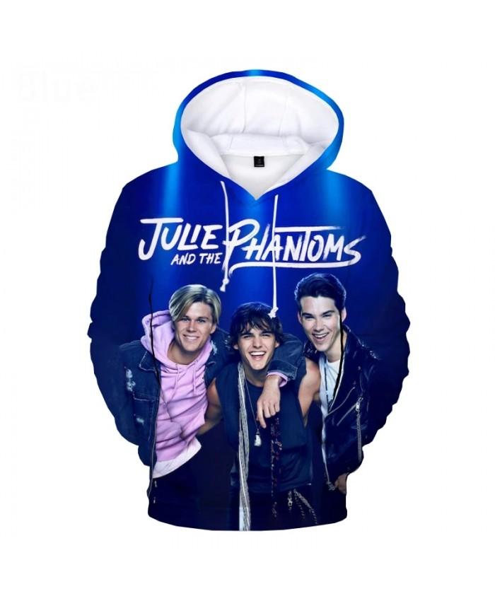 2021 Julie and the Phantoms Hoodie 3D Tracksuit Men Women Hip Hop Hoodie Sweatshirts Harajuku Streetwear Oversized Clothes
