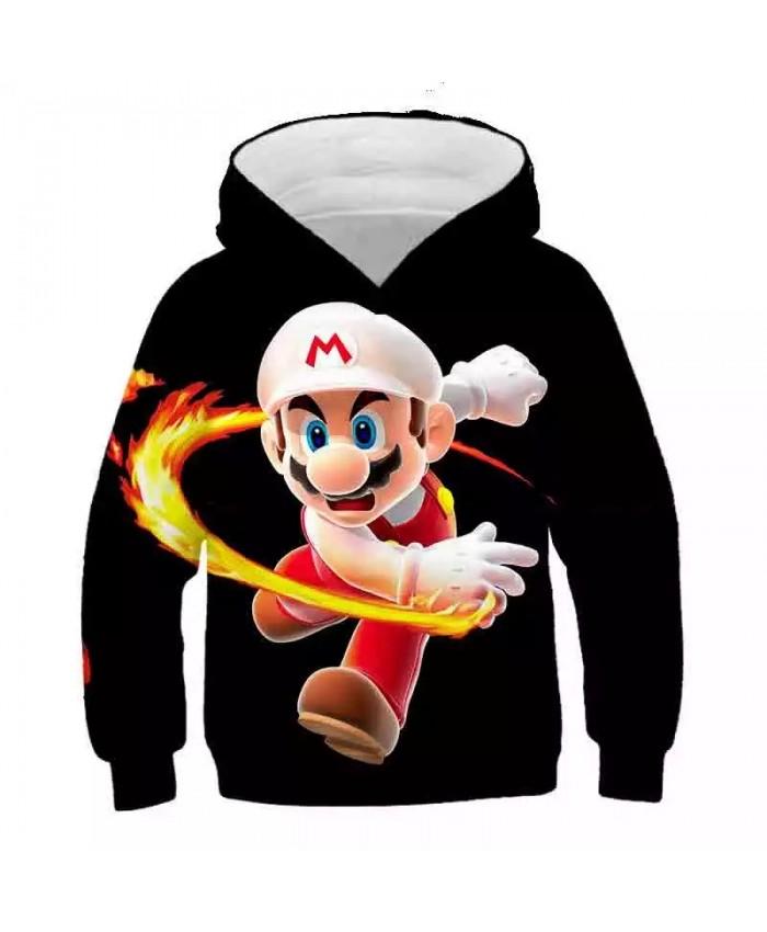 2021 Autumn New Style 3d Hoodies Cartoon Super Mario 3D Print Pokemon Hoodie Sweatshirt Funny Casual Pullover Jacket Coat Tops