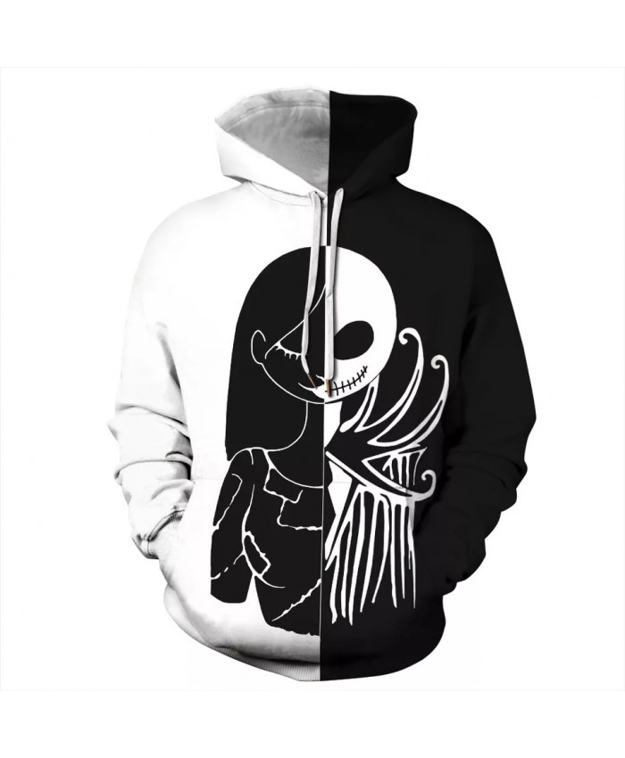 Men's New 3D Print Hooded 2021 New Fashion Casual Hoodies Joker Tracksuit Street Wear Top Clothing