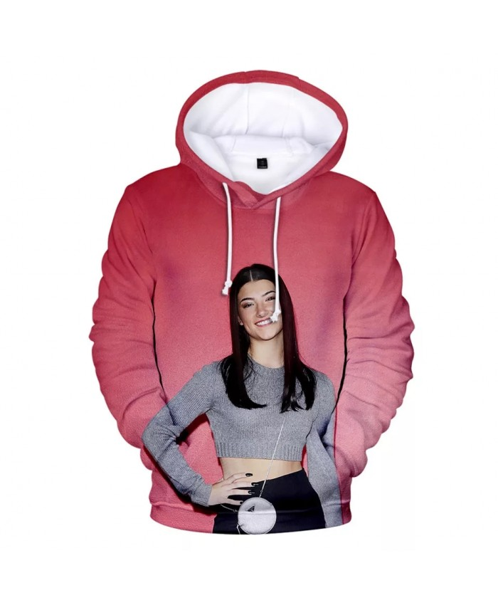 The Hype House 3D Hoodies Charli D'Amelio Sweatshirts Men Women Print Addison Rae Hoodie Pullover Unisex Harajuku Tracksuit