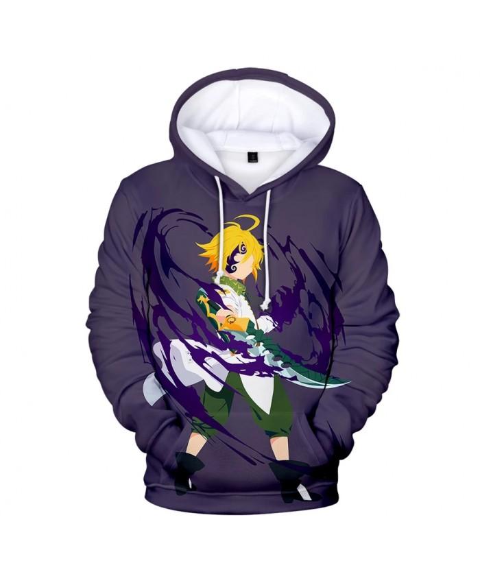 Meliodas 3D Hoodies Men Women Fashion Sweatshirts Pop Print Nanatsu No Taizai Coolest The Seven Deadly Sins Meliodas 3D Hoodies