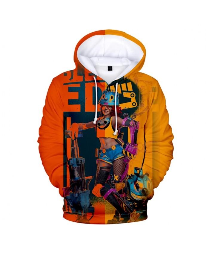 Bleeding Edge 3D Printed Hoodies Women Men Fashion Long Sleeve Hooded Sweatshirt Hot Sale Casual Streetwear Clothes