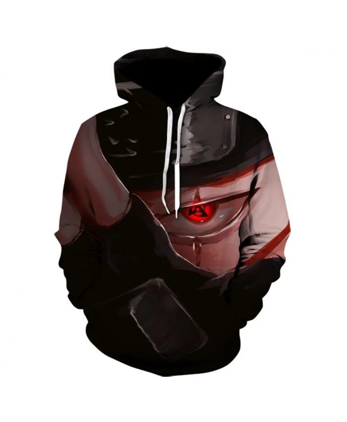 Cartoon Characters Uzumaki Naruto Sasuke 3d Printed Hoodie Japan Anime Hoodies Hip Hop Winter Sweatshirt Stranger Things 2021