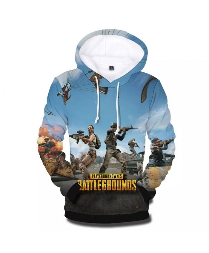 High Quality 3D PUBG Hoodies Men women Playerunknown's Battlegrounds Hot Game Fashion Wear 3D Print PUBG Men's Hoodie Sweatshirt