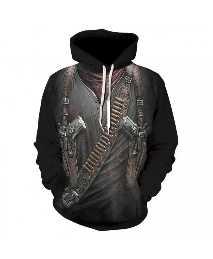 2021 Autumn And Winter Hot New Men's Hoodie 3d Printing Skull Hoodie Men Hip Hop Hoodie Skull Fashion Long Sleeve Hoodie
