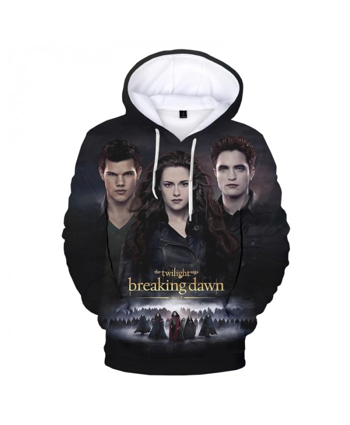The Twilight Saga 3D Print Hoodies Men Women Fashion Casual Cool Pullover Unisex Harajuku Streetwear Hooded Sweatshirts