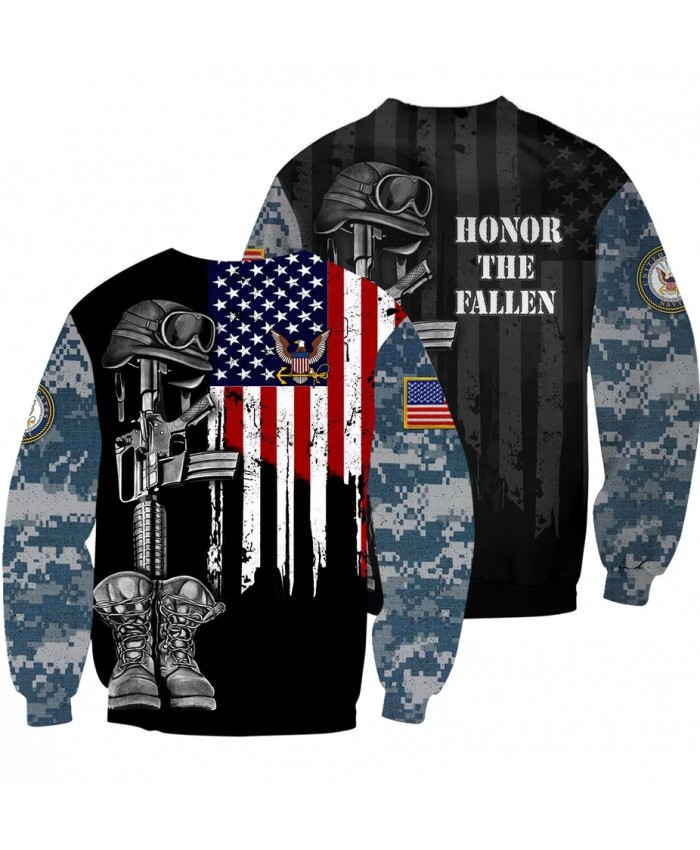 US America USMC 3D print men women fashion cool Long Sleeves sweatshirt harajuku style street styles tops