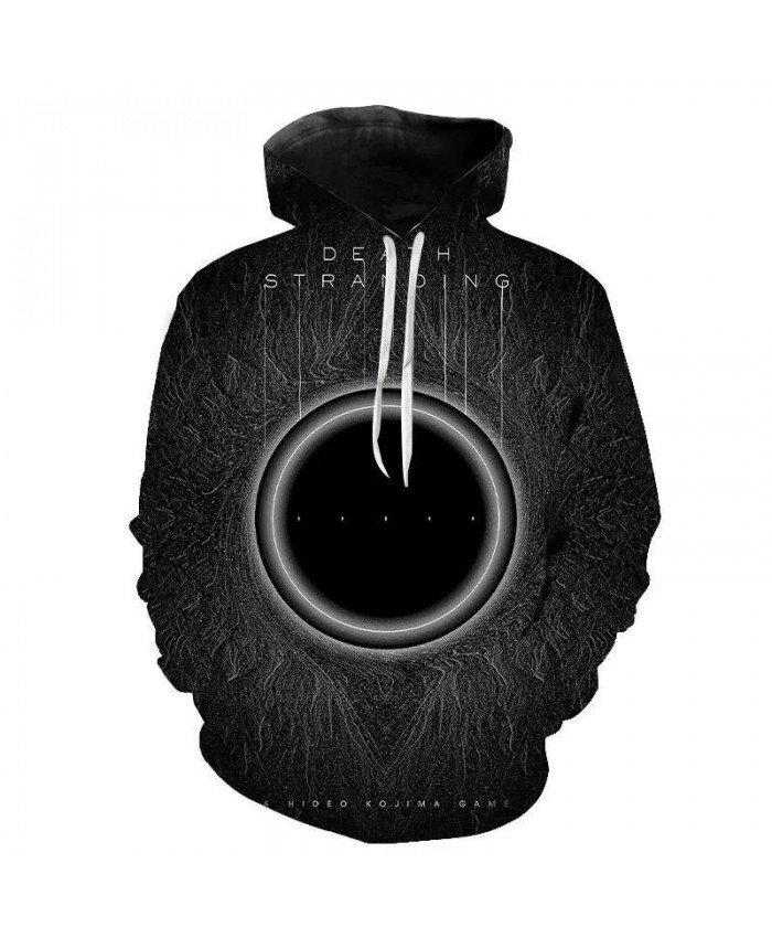 Death Stranding Hoodies 3D Printed Sweatshirts Game Long Sleeve Men Women Children Streetwear Boy Girl Casual Pullover Tops Rock