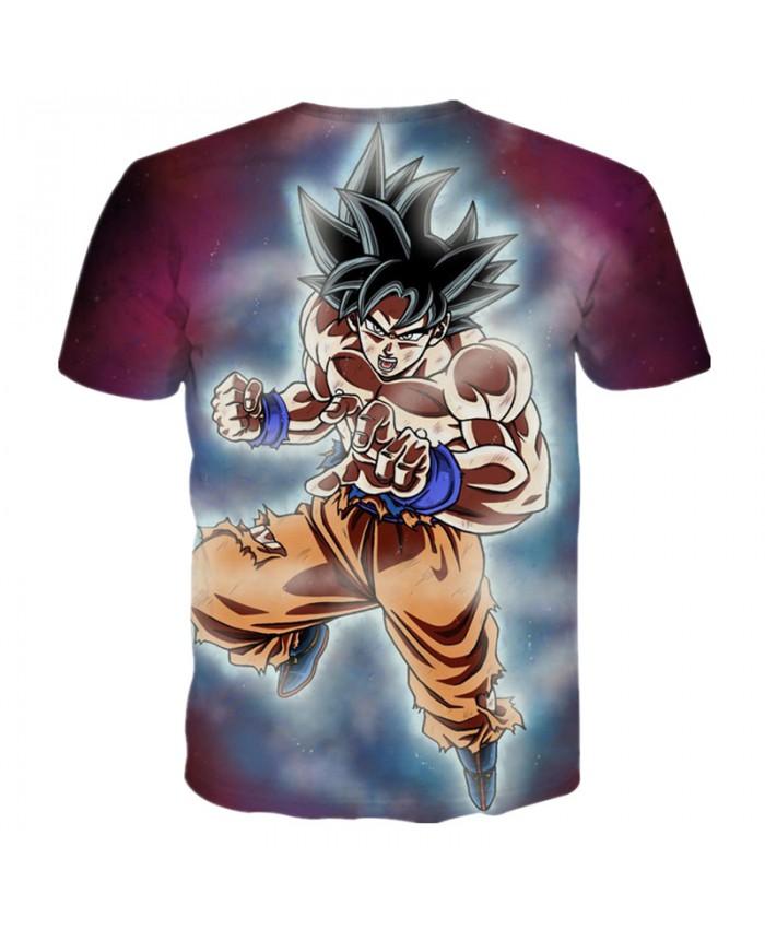 New Brand Dragon Ball Z T-Shirts 3D Printing Super Saiyan Son Goku Man Male Boy