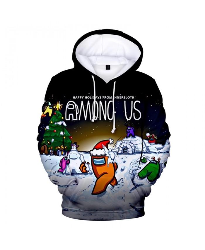 2021 Among Us Hoodie 3D Women Sweatshirts Long Sleeve Men's Hoodie Unisex Streetwear Video Games Harajuku Oversized Clothes