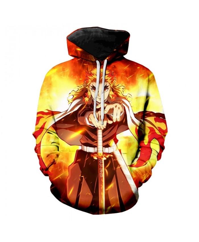 Anime Demon Slayer 3D Printed Hoodie Sweatshirts Men Women Fashion Casual Cool Pullover Kimetsu no Yaiba Harajuku Style Hoodies