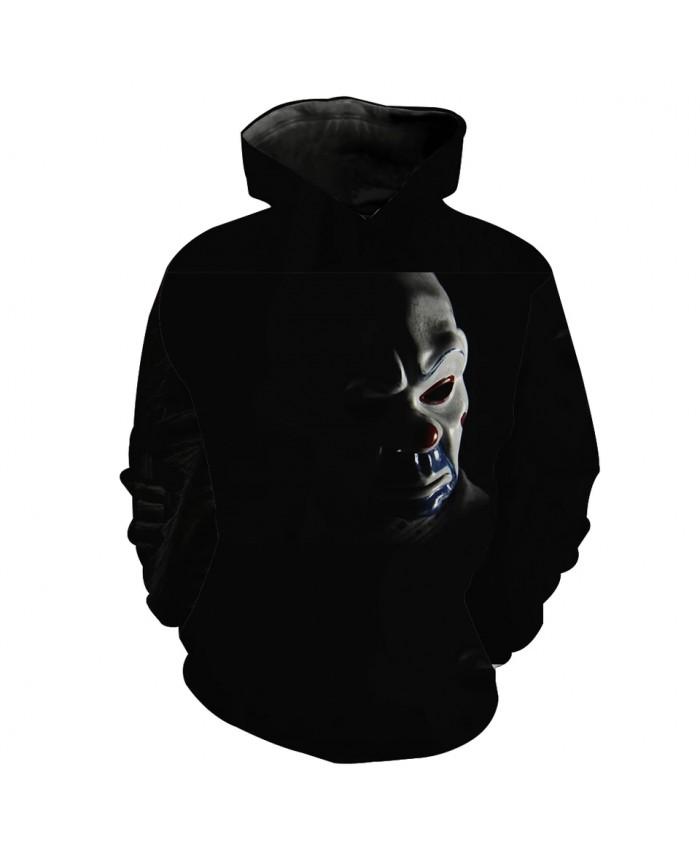 Men's Fashion 3D Hoodie 3 colored pottery figurines printing sweatshirt