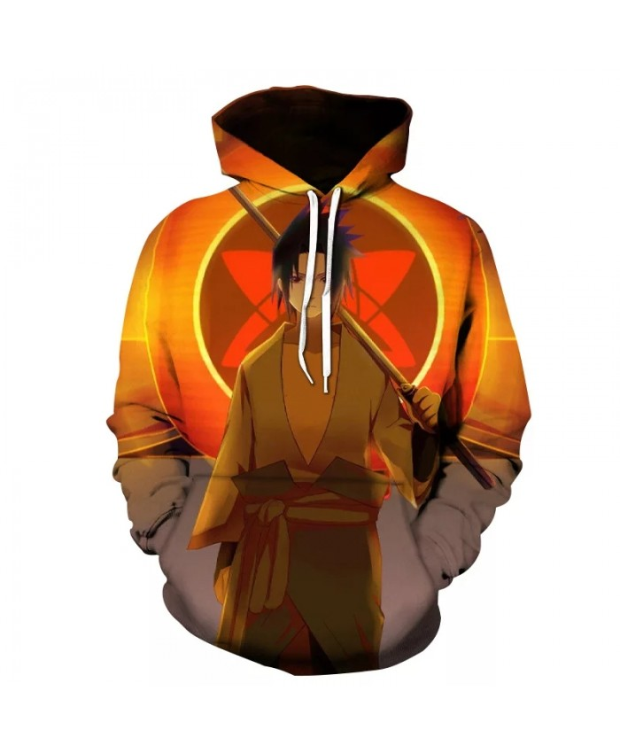 Spring And Autumn New Men's And Women's Hoodie 3d Printing Naruto Harajuku Children's Cartoon Anime Sweatshirt Coat