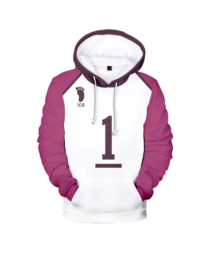 Fashion Haikyuu Hoodies Men women Hot Harajuku 3D Print Streetwear Haikyuu Men's Hoodies Sweatshirt Plus Size Clothes