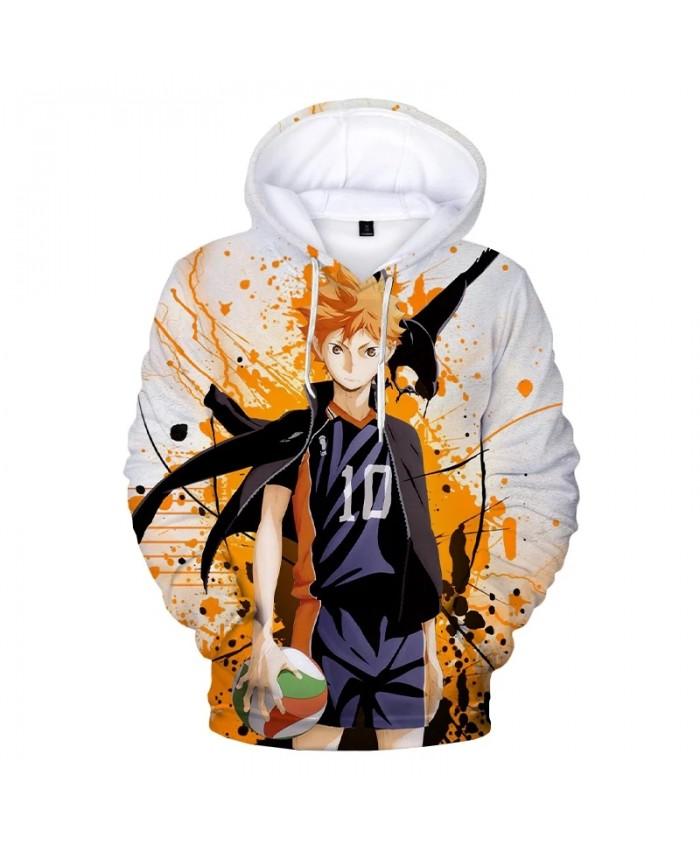 Haikyuu 3D Print Hoodie Sweatshirts Men Women Fashion Casual Cool Pullover 2021 New Anime Harajuku Streetwear Hoodies