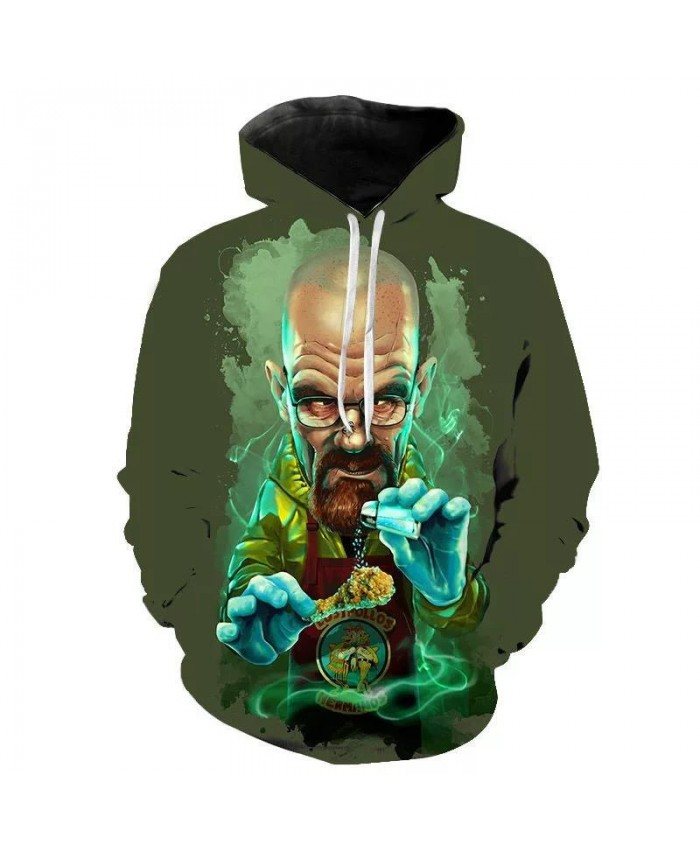 Breaking Bad TV Series Men Hoodies Women Hooded Sweatshirt Heisenberg Fashion Pullover Sport Casual Hoodie Hip Hop Tops Clothing