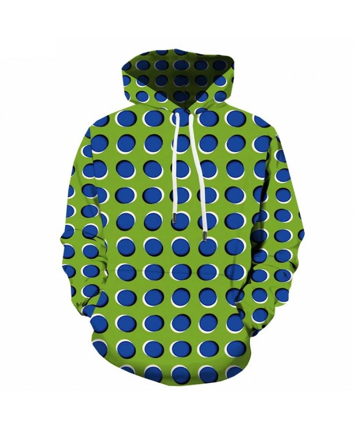 3d Hoodies Psychedelic Hoodie Men Abstract 3d Printed Dizziness Sweatshirt Printed Geometric Hoody Anime Hooded Casual