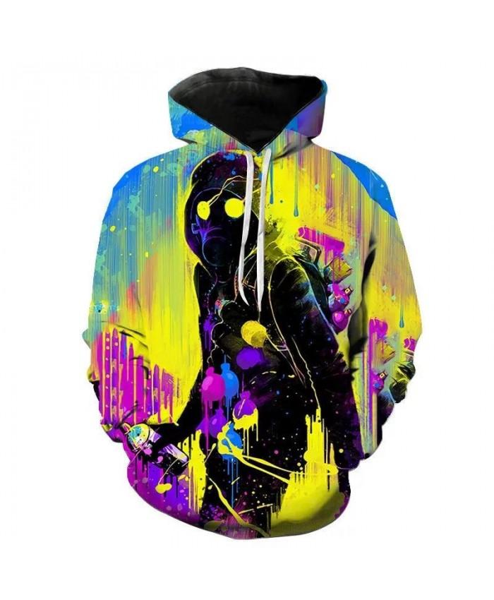 Men Women Children Skull Hoodies Fashion Autumn Ghost Rider Cool Sweatshirts Print3D Harajuku Streetwear Hoodie Pullover Hip Hop