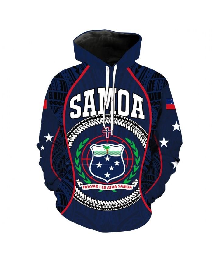 Men's Fashion 3D Hoodie White star branch shield print sweatshirts