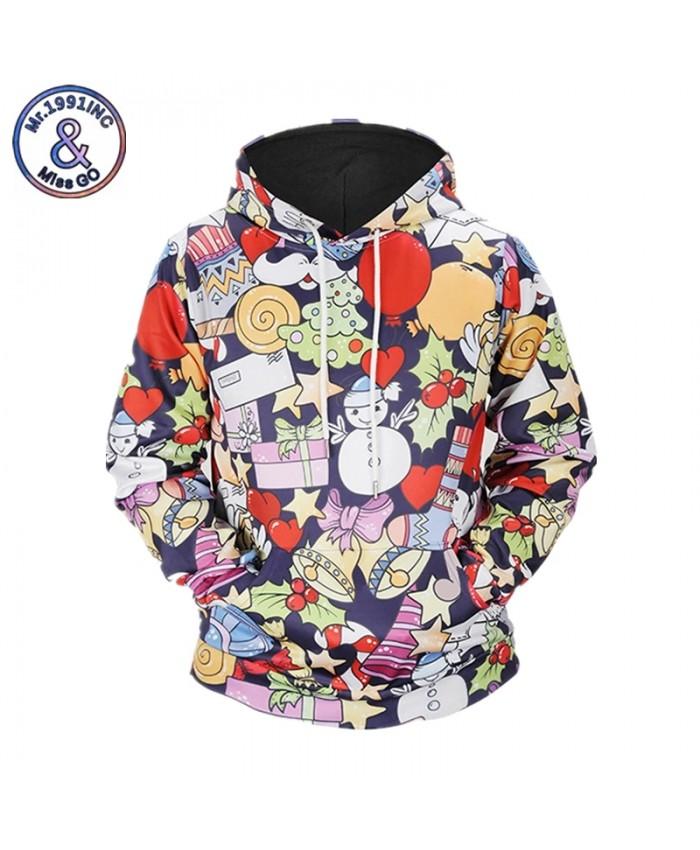 3D Sweatshirt Men Women Hoodies With Hat Print Cartoon Snowman Casual Fashion Hooded Hoody Tops S-XXXL