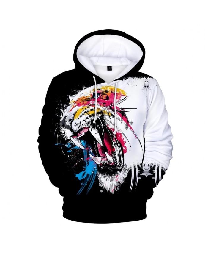 Hooded Beast Wolf Pullovers Clothes Hip Hop 3D Print Spring Men women 2021hot Sale Wild Animal Hoodies Casual Hoodie Sweatshirts