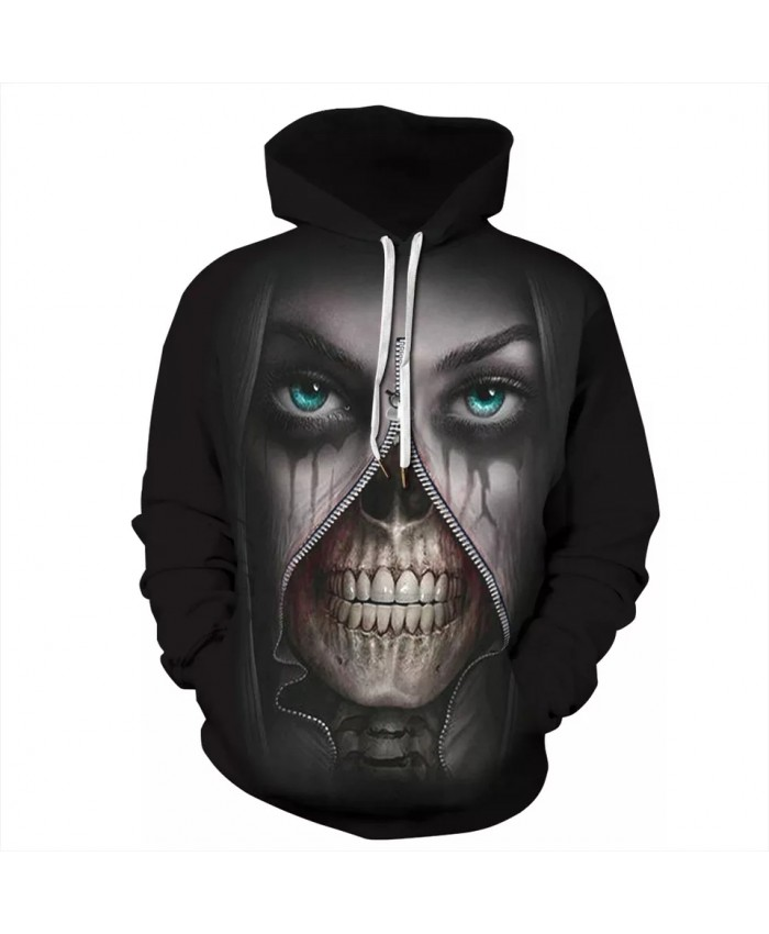 2021 New 3D Print Hoodie Men's Hooded Autumn Winter Hip Hop Hoody Tops Fashion Casual Dropship