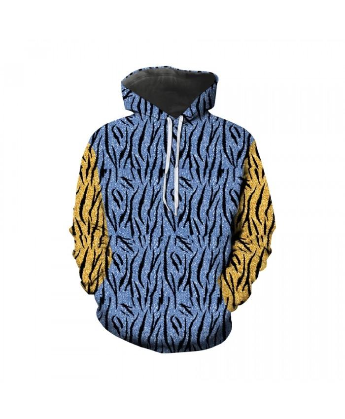 Hot sale 3D printing Tiger King hoodie quality design hip hop men's clothing animal tiger stripe camouflage Harajuku large size