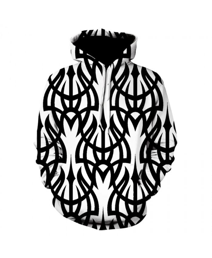 Men's casual print long-sleeved hoodie sweatshirt 3D fashion trend vertigo thin sports hoodie spring summer jacket