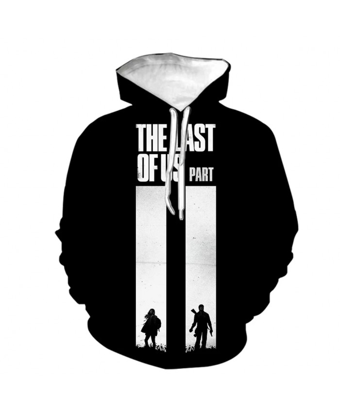 The Last Of Us 3D Print Hoodies Game Printing Cosplay Sweatshirt Men Women Fashion Streetwear Hoodie Hip Hop Pullover Autumn Men