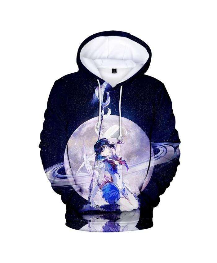 2021 Autumn Move New 3d Printing Sailor Moon Men And Women Hoodie Sweatshirt Children Casual Cartoon Anime Sweatshirt Coat