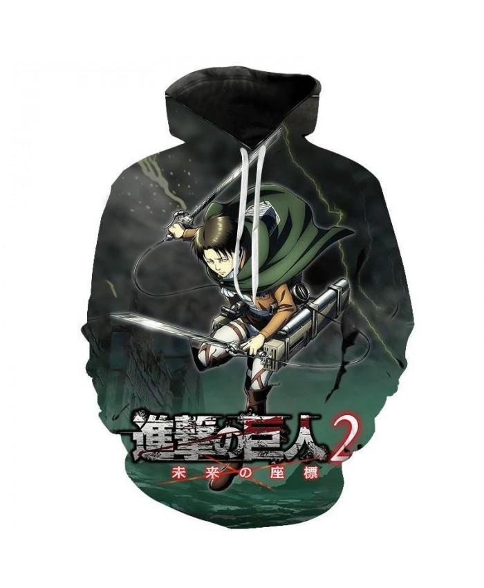 Attack on Titan Hoodie Funny Cartoon Harajuku 90s Hoodies Men Hip Hop Shingeki No Kyojin Sweatshirt Hip Hop Hoody Male vintage