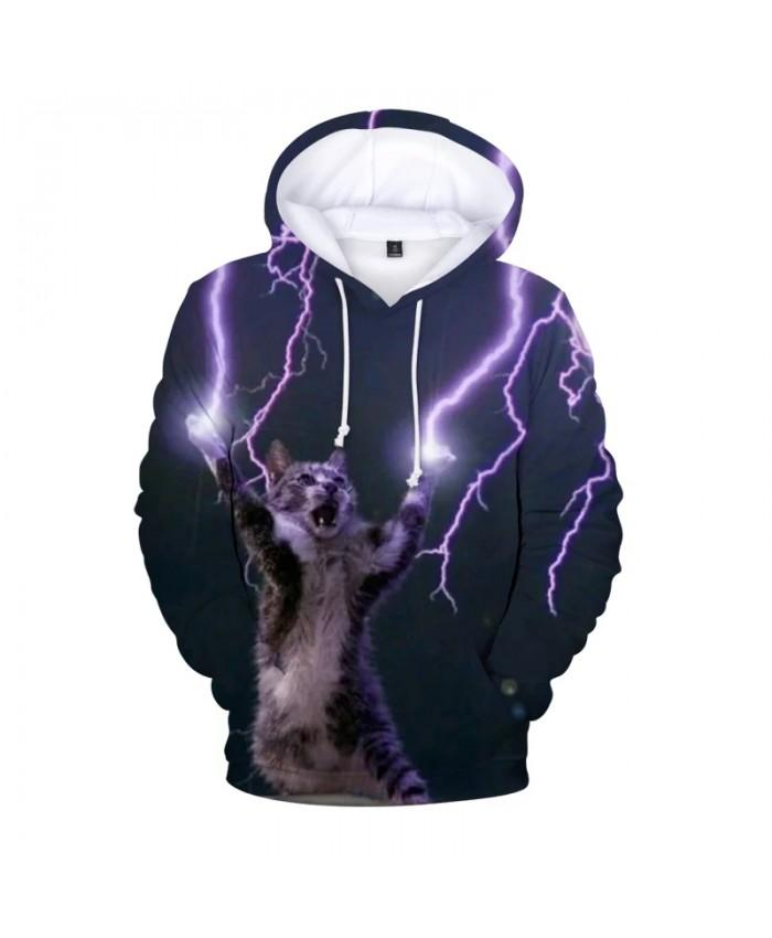 New 3D Cool Cat Printed Hoody Fleece Pullover Hoodies Men Women Casual Hooded Streetwear Sweatshirts Hip Hop Harajuku Male Tops