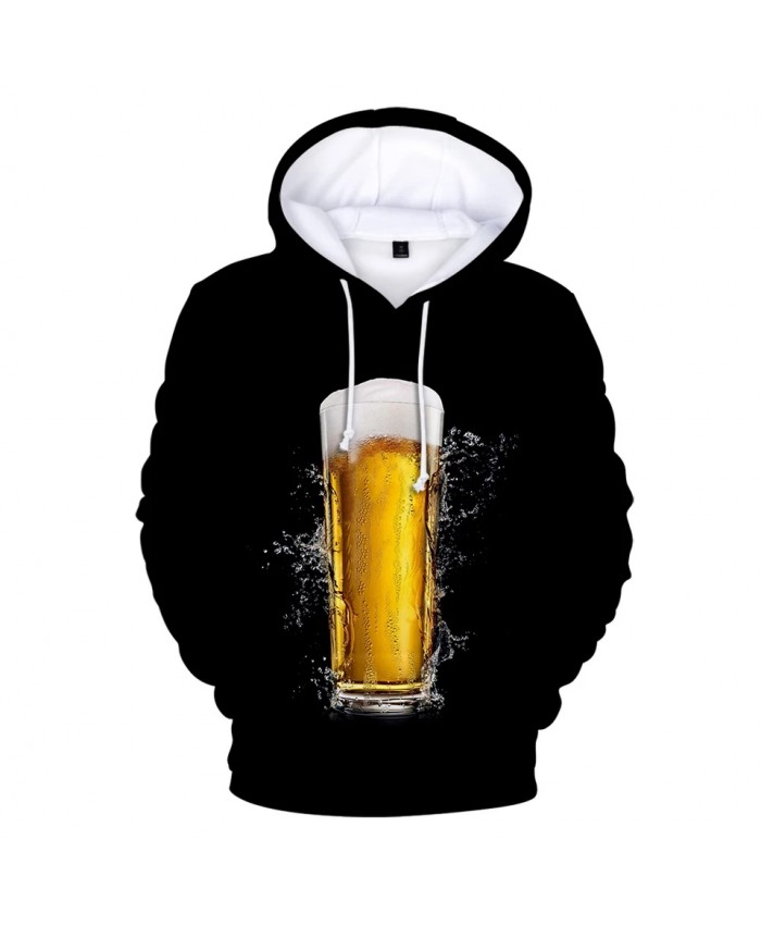 Beer day 3D Hoodies Casual Style Men Women Fashion Harajuku Streetwear Pullover Men Tops Hip Hop Print Sweatshirt funny Hooded