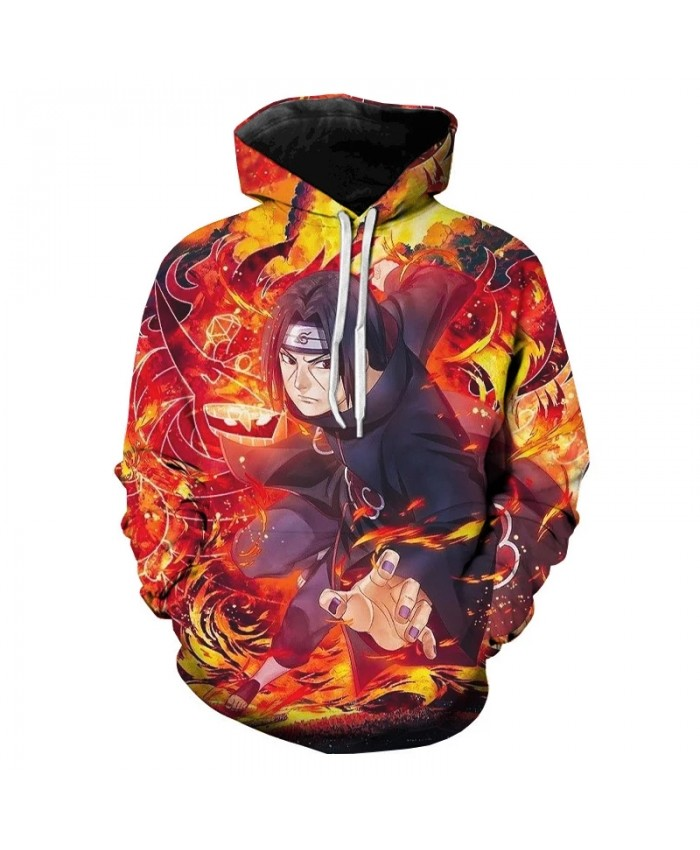 Cool Naruto Hoodies Men Women Sweatshirt New Fashion Hooded Autumn Casual 3D Cartoon Naruto Harajuku Hip Hop BoysPullovers
