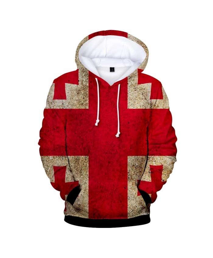 2021 Hot England National Flag 3D Hoodies Men women Fashion Harajuku 3D Print England National Flag Men's Hoodies