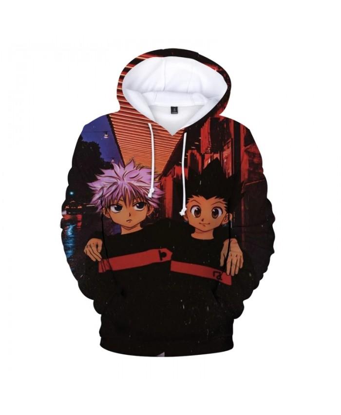 Women Men Hooded Hoodies Hunter X Hunter Women Pullover Hoodies Sweatshirts Killua Zoldyck Devil Eye Anime Hoody Streetwear Tops