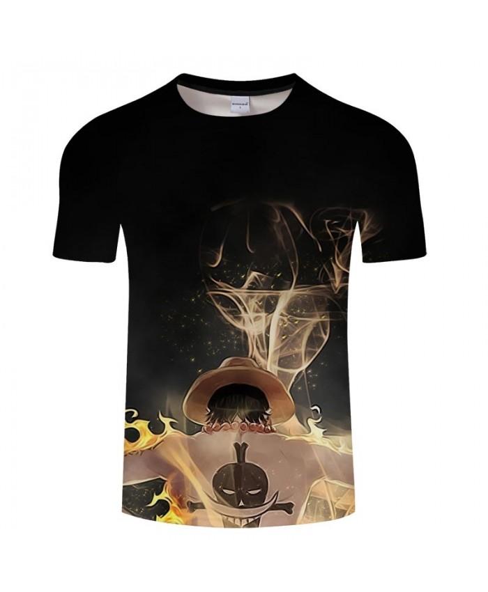 A Layer Of Fairy Fog One Piece 3D Print Men tshirt Crossfit Shirt Casual Summer Short Sleeve Male tshirt Brand Men