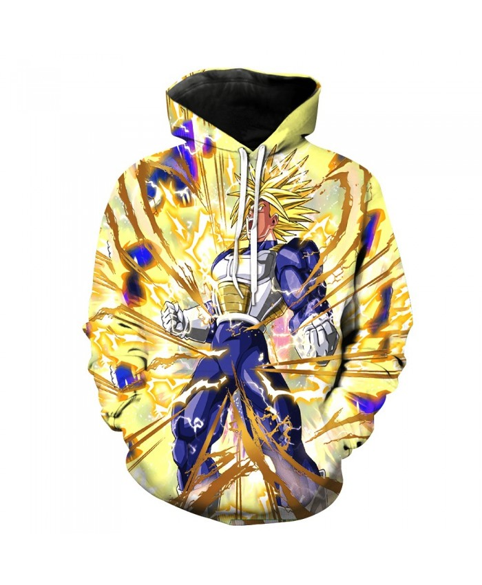 Anger Vegeta Dragon Ball Z Hoodies 3d Pullover Sportswear Women Men Goku Hoode Hooded Sweatshirt