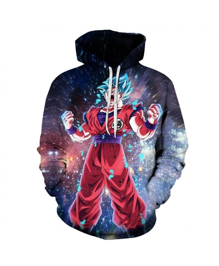 Angry Super Saiyan Dragon Ball Hoodies Men Women 3D Hoodie Dragon Ball Z Sweatshirts Anime Fashion Casual Tracksuits Boy Jackets