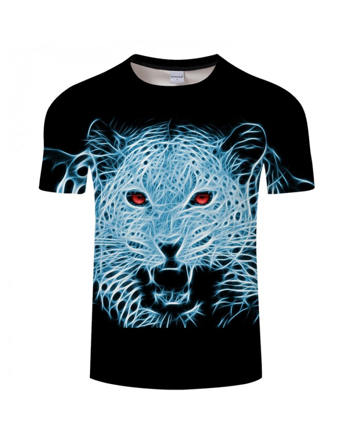 Animal 3D t shirt Men tshirt Summer Casual T-Shirt Short Sleeve Tops Streatwear Tees Print Harajuku Lovely DropShip