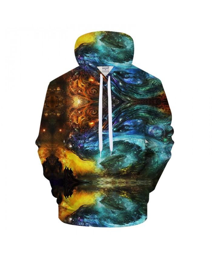 Animal Hoodies Men 3D Sweatshirt Streatwear Hoody Brand Pullover Funny Tracksuit Anime Coat Pullover Dropship