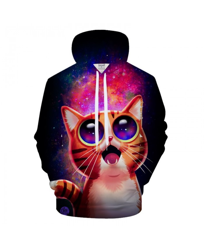 Anime Cat 3D Hoodies Men Hoody 6XL Sweatshirts Autumn Tracksuits Streetwear Coat Pullover Animal Clothing Drop Ship