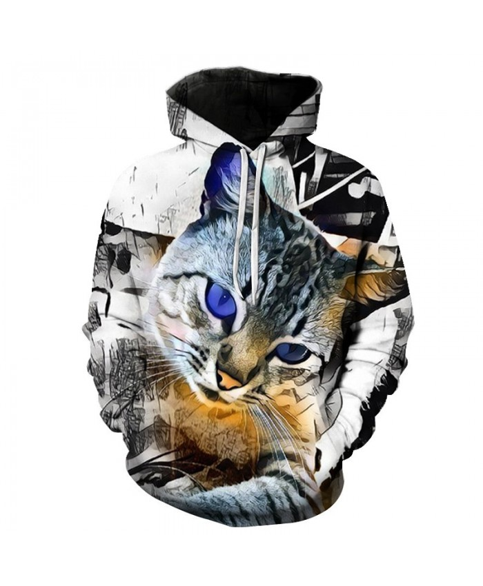 Anime Cat Printed Hoodies Men Women Sweatshirts Funny Tracksuits Autumn Pullover Winter outwear Male Coat Streetwear