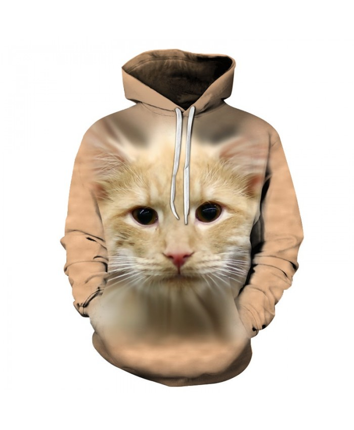 Anime Cat Sweatshirts Men Women Hoodies Autumn Tracksuit 3D Pullover Printed Hoody Streetwear Coat Brand Drop Ship