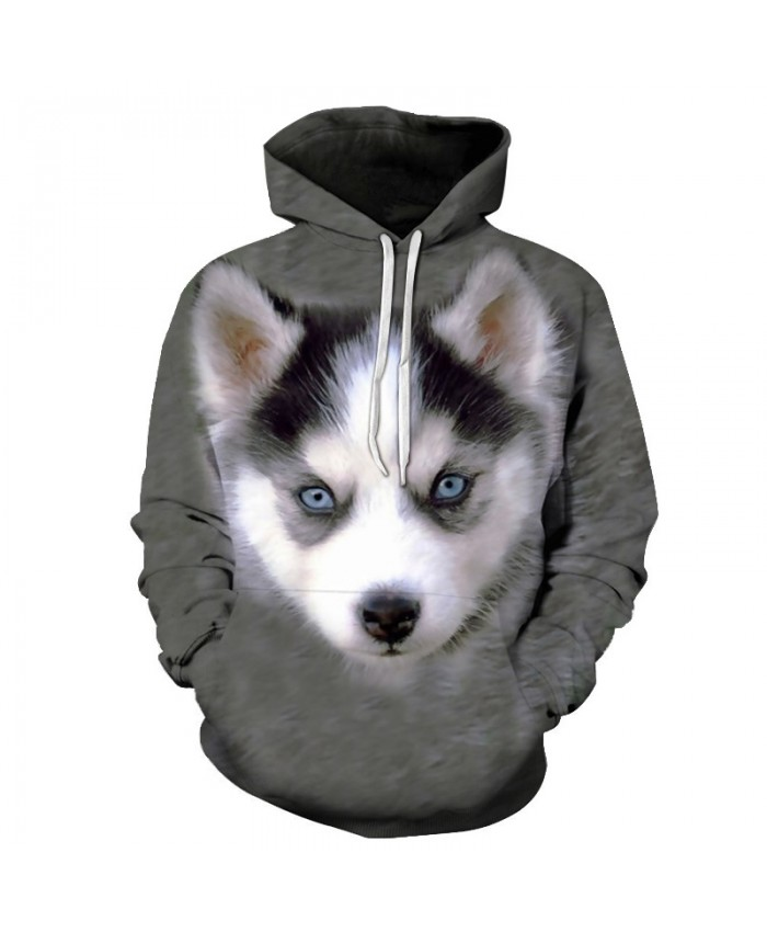 Anime Dog Hoodies Sweatshirts Men Tracksuits Hooded Coat Streetwear Clothing 3D Pullover Animal Prints 6xl Drop Ship