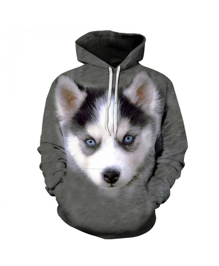 Anime Dog Hoodies Sweatshirts Men Tracksuits Hooded Coat Streetwear Clothing 3D Pullover Animal Prints 6xl Drop Ship