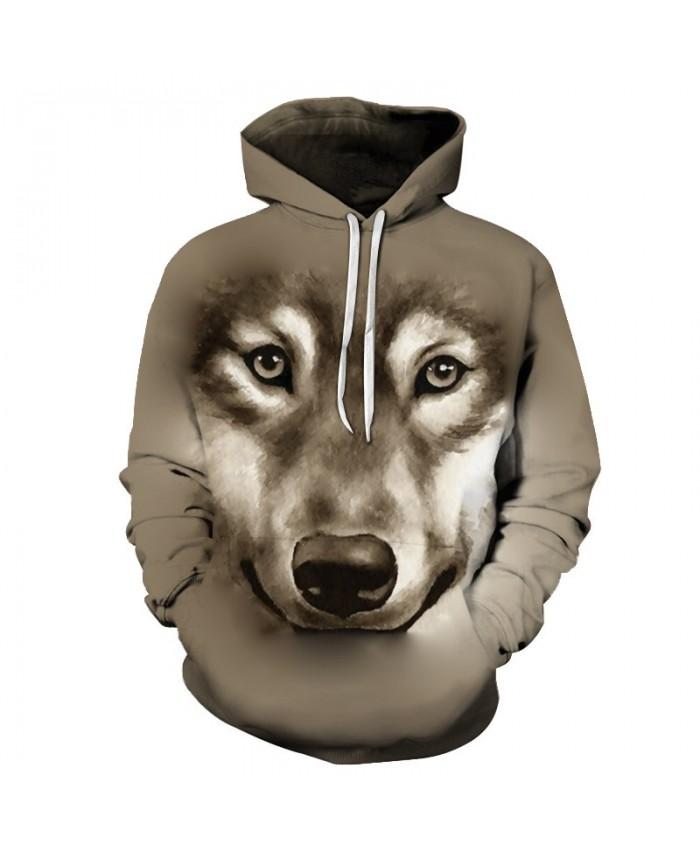 Anime Dog Sweatshirts Men Hoodies Cartoon Tracksuit 3D Prints Pullover Streetwear Coat Funny Hoody Brand Drop Ship
