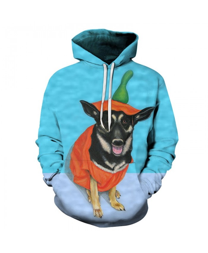 Anime Dog Sweatshirts Men Hoodies Funny Tracksuit 3D Printing Pullover Streetwear Hoody Hip Hop Coat Brand Drop Ship