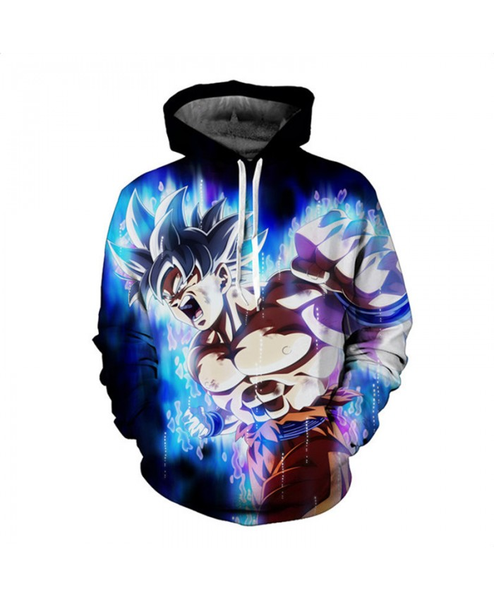 Anime Dragon Ball Hoodie 3D Sweatshirt Kids Goku Printed Cartoon Outwear Men Hiphop Streetwear Long Sleeve Tracksuit