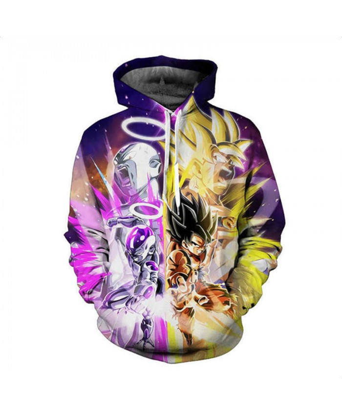 Anime Dragon Ball Hoodie Male 3D Sweatshirts Super Saiya Vegeta Kids Goku Printed Outwear Teen Boy Cartoon Hoody Pullover